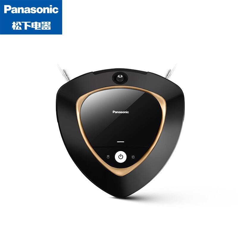 松下(Panasonic)扫地机器人 MC-8R76C 智能自动 大功率 吸拖一体 超薄家用吸尘器 京品家电