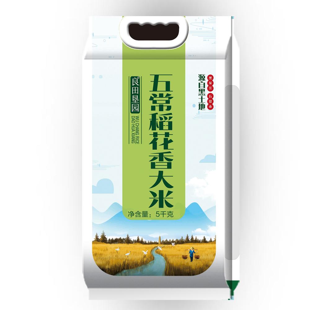 良田垦园 五常大米稻花香5kg