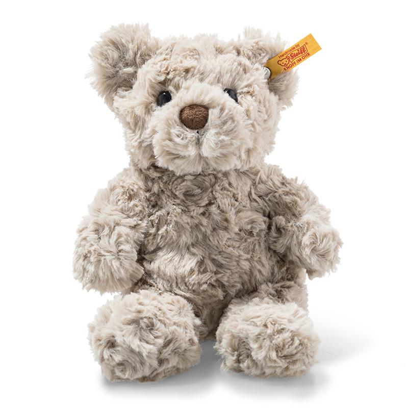 德国Steiff毛绒玩具Honey泰迪熊灰色 18cm 4001505113413