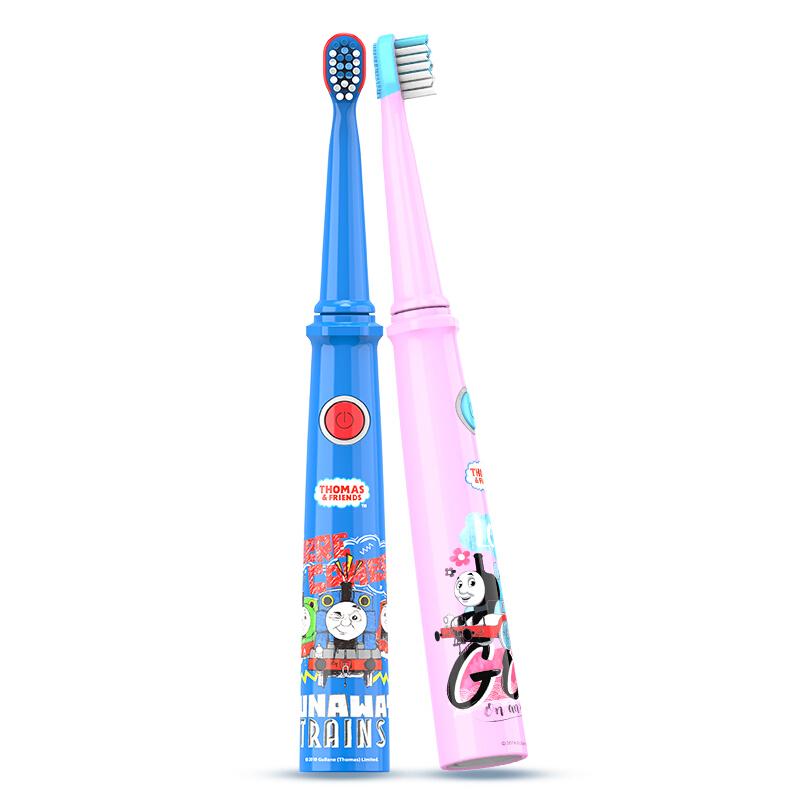 托马斯&朋友 儿童电动牙刷 充电式防水自动声波电动牙刷 3-12岁 TC1803蓝色