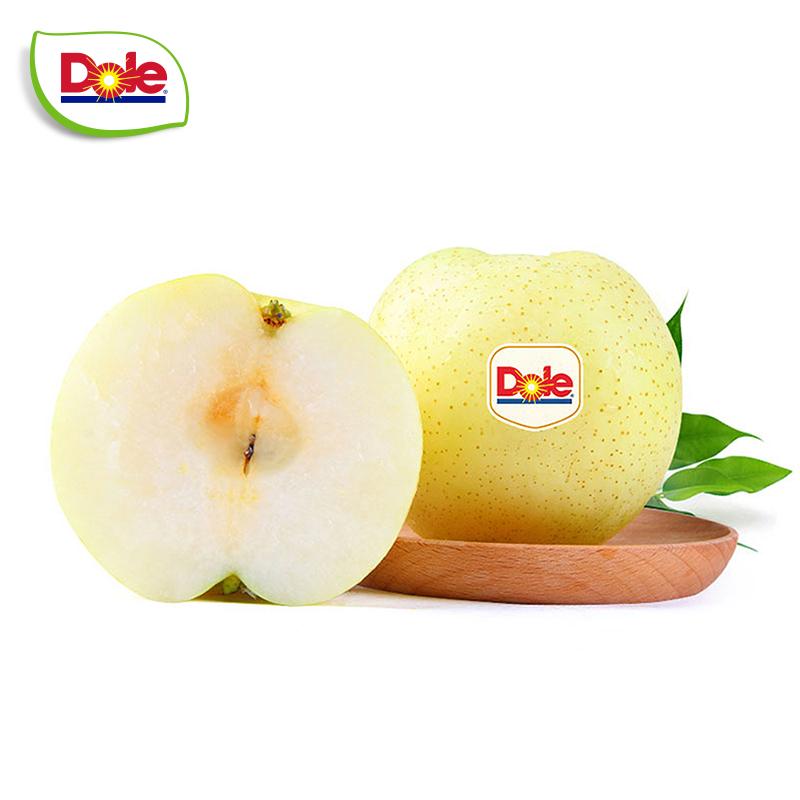 【Dole都樂】山東都樂黃金梨4只裝 生鮮水果 新鮮梨 單果約300g