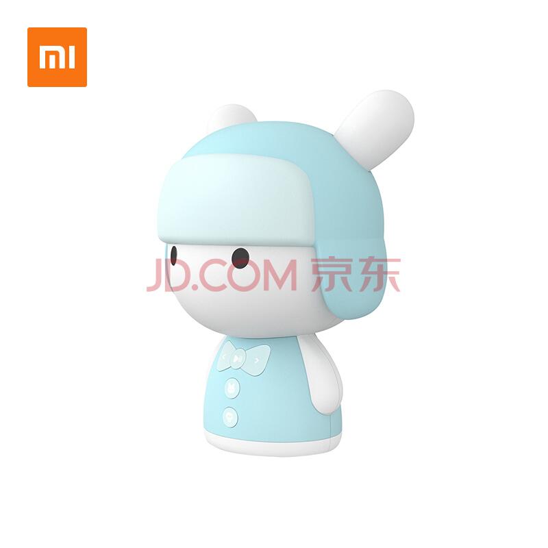 小米 米兔故事机mini-蓝牙版蓝色 智能机器人儿童早教机婴儿益智玩具启蒙学习机智能语音点播,小米(MI)