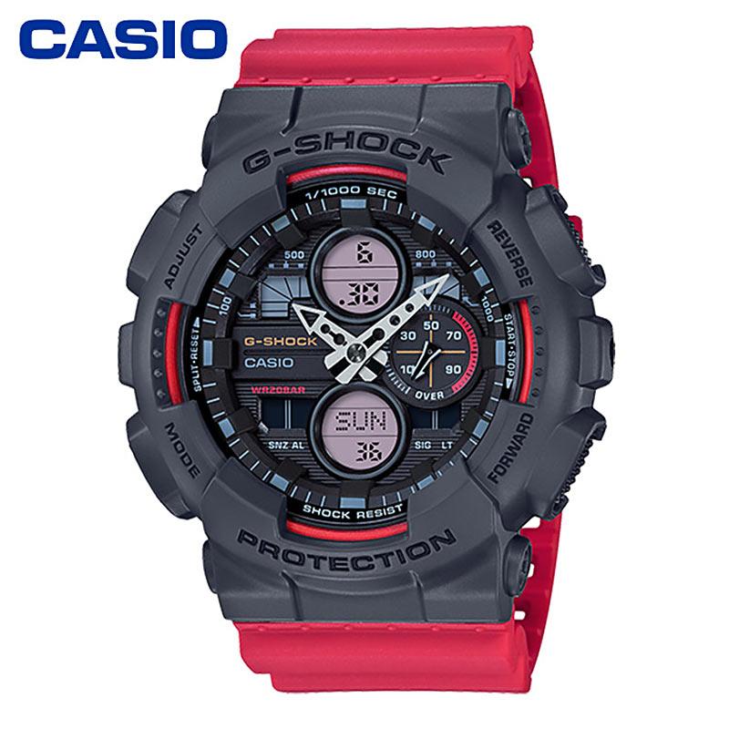新品CASIO卡西欧GA-140系列音响表盒运动潮流男表200米防水手表