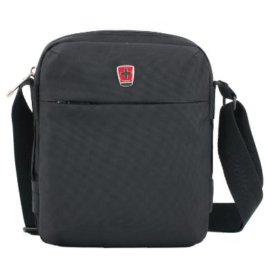 瑞動 商務單肩包背包MT-5798黑色男士斜挎包