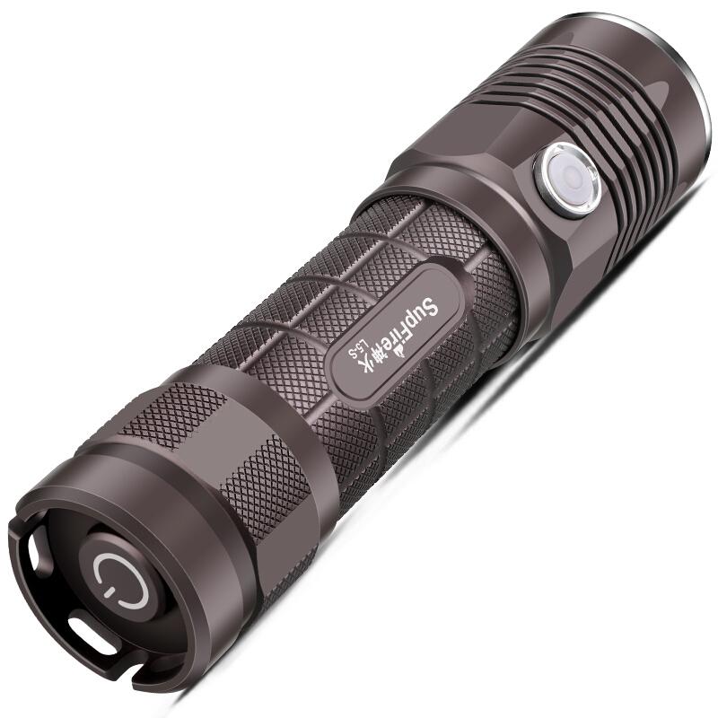 神火(supfire)L5-S强光手电筒LED远射家用户外骑行USB充电