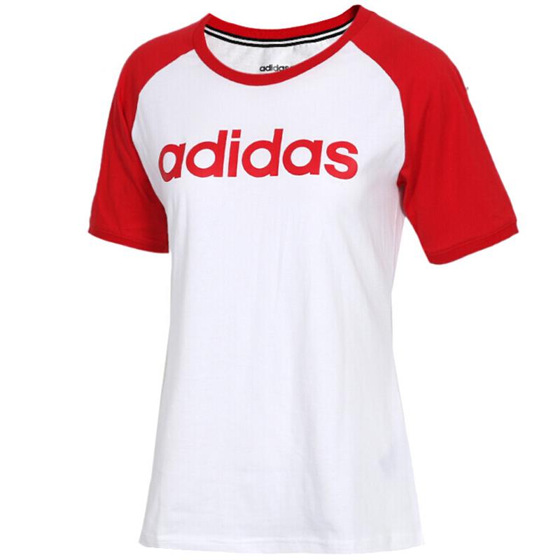 阿迪达斯 ADIDAS NEO 女子 休闲系列 W CE TEE 2 运动 T恤 DW7948 L码