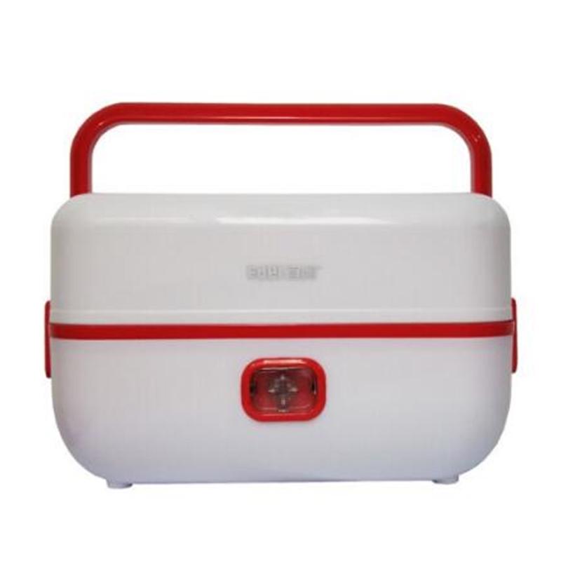 EDEI宜閣電熱飯盒蒸煮便當盒雙碗型 MD-618