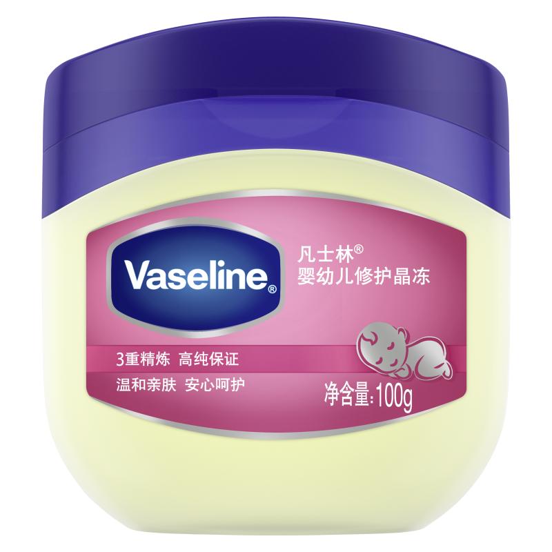 凡士林(Vaseline)婴幼儿修护晶冻100g 保湿润肤