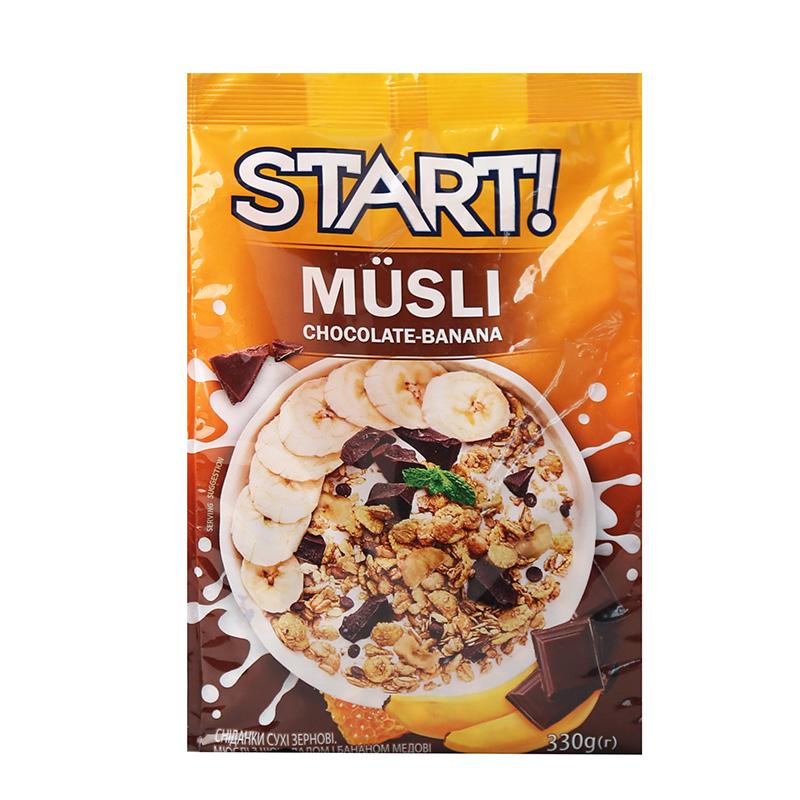 START香蕉巧克力即食冲饮干吃燕麦片营养坚果代早餐谷物