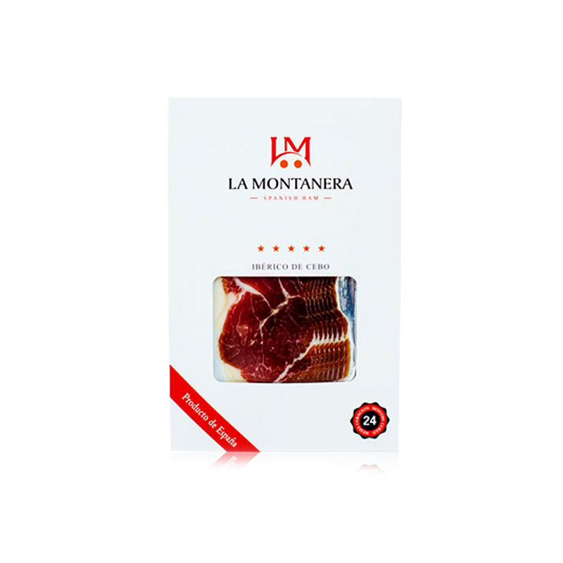 LA MONTANERA蒙特拉 伊比利亚风干火腿前腿谷物饲养切片 100g(24个月以上)