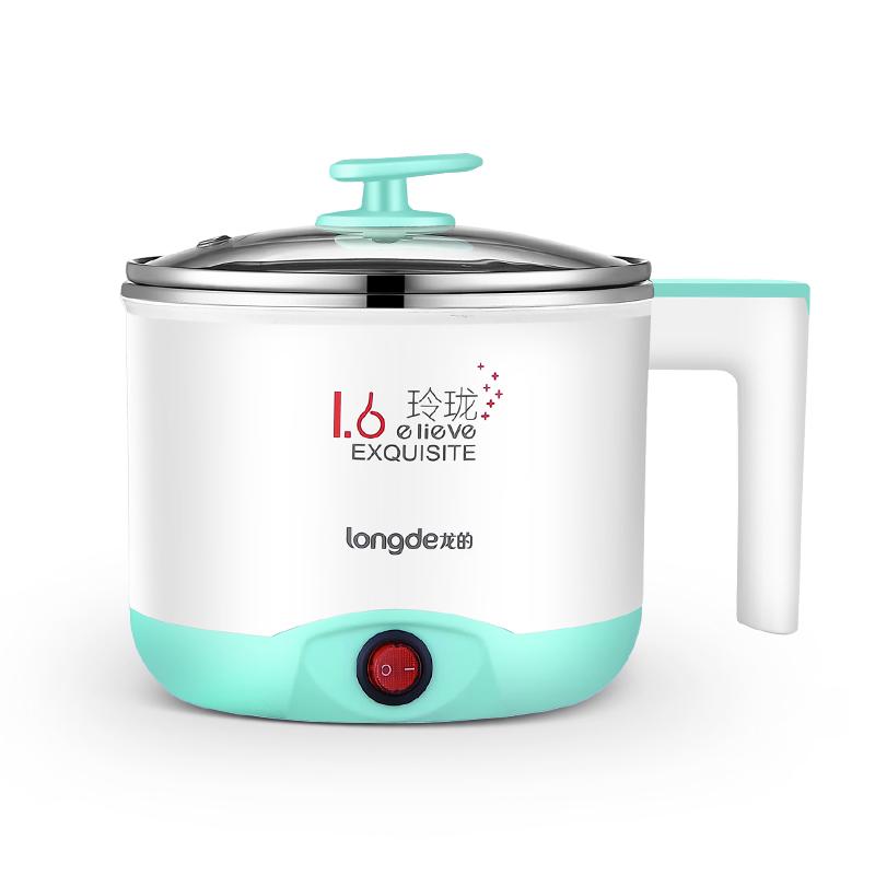 龙的电煮锅LD-ZG1501 多用途小功率电热锅学生宿舍迷你电煮锅