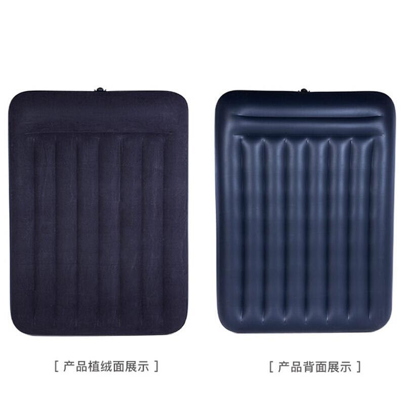 INTEX 内置枕头充气床垫 露营气垫床 折叠床双人137*191*30cm