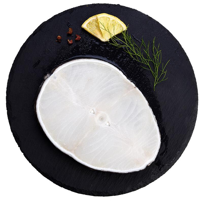 我爱渔 冷冻法国银鳕鱼圆切220g 1片装 袋装 MSC认证 宝宝辅食 自营海鲜水产