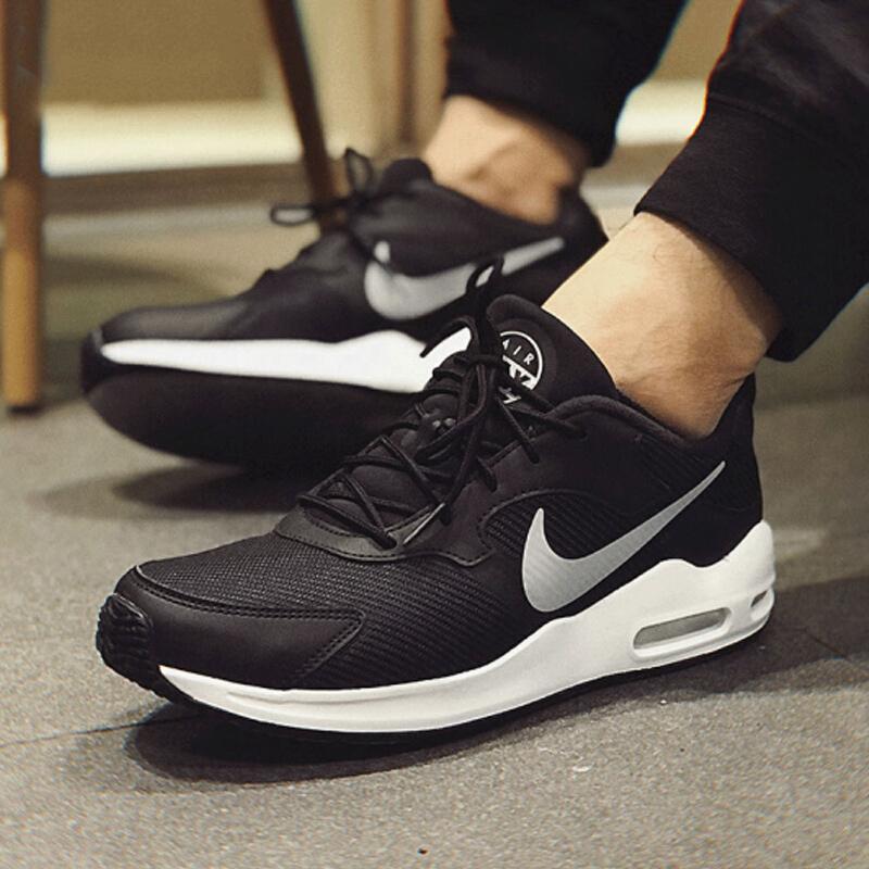 耐克NIKE 男子 休闲鞋 气垫 AIR MAX GUILE 运动鞋 916768-012 黑色44码