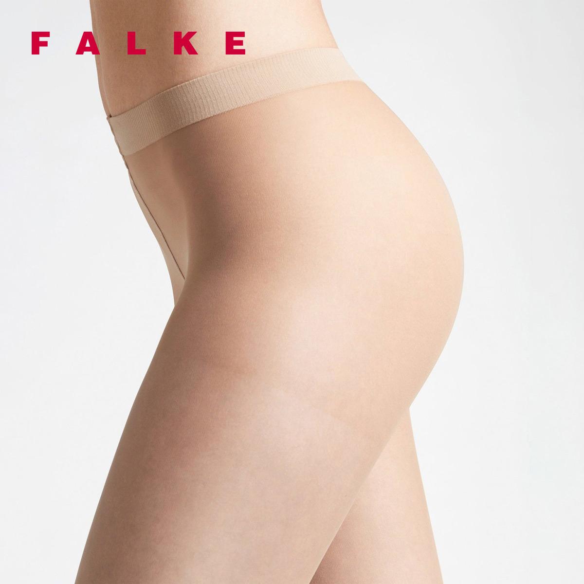 FALKE德国鹰客Invisible Deluxe 8D超薄透明哑光连裤丝袜女40610