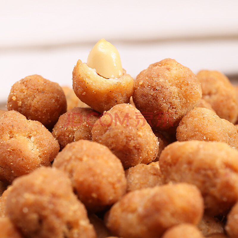 口水娃 坚果炒货 零食小吃五香味多味花生290g,口水娃