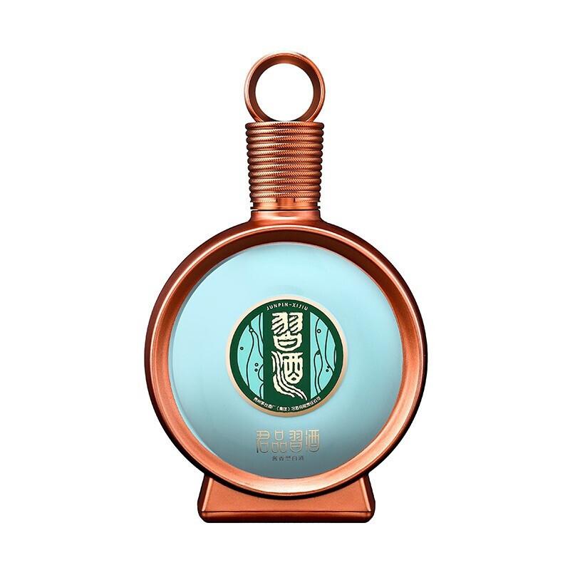 茅台集团 贵州习酒 53度 君品习酒 酱香型白酒 500ml 单瓶 礼盒装