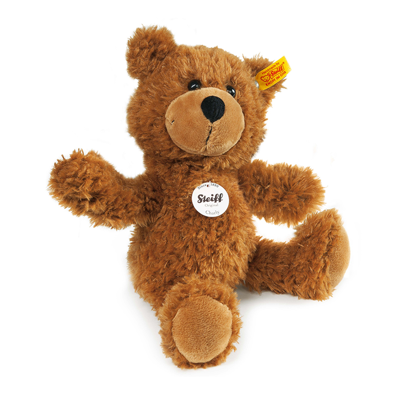 德国Steiff毛绒玩具Charly泰迪熊棕色 30cm 4001505012914