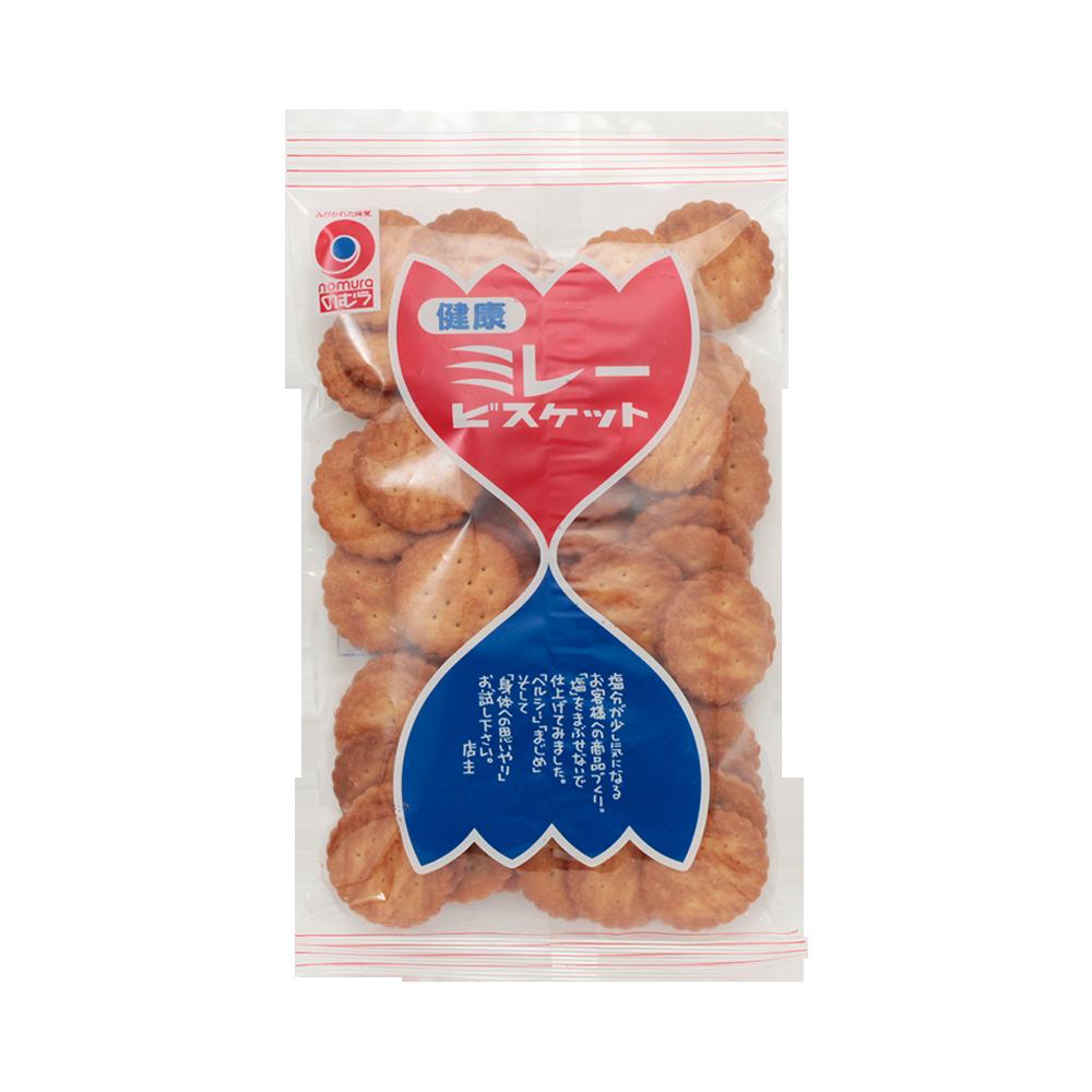 NOMURA 野村煎豆 健康小米饼干 130g