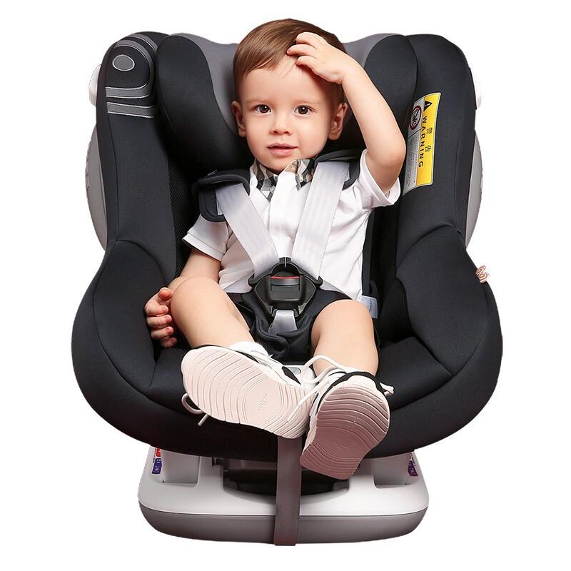 SAVILE猫头鹰 宝宝汽车儿童安全座椅0-4岁 正反向安装 海格V103B 夜骐