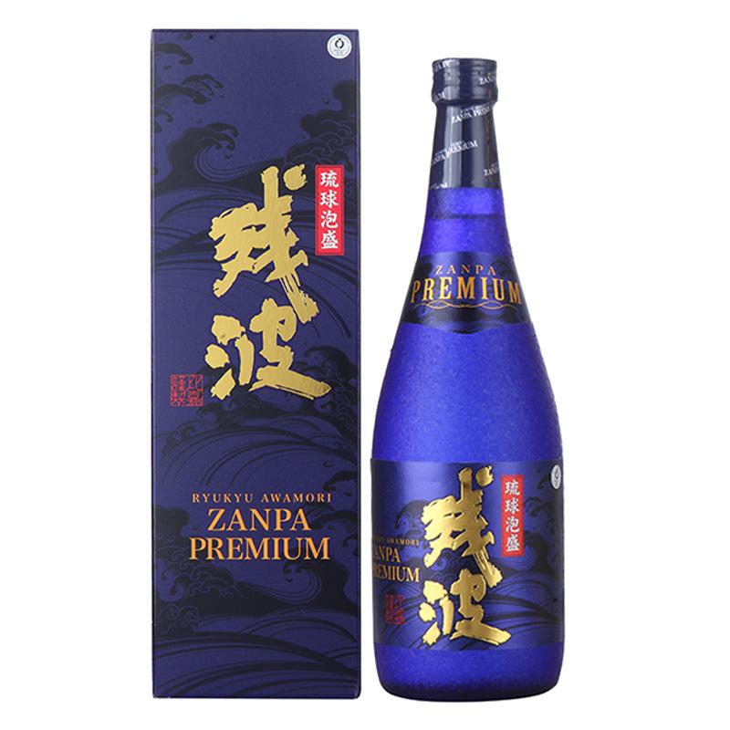 残波泡盛酒(蒸馏酒)-蓝