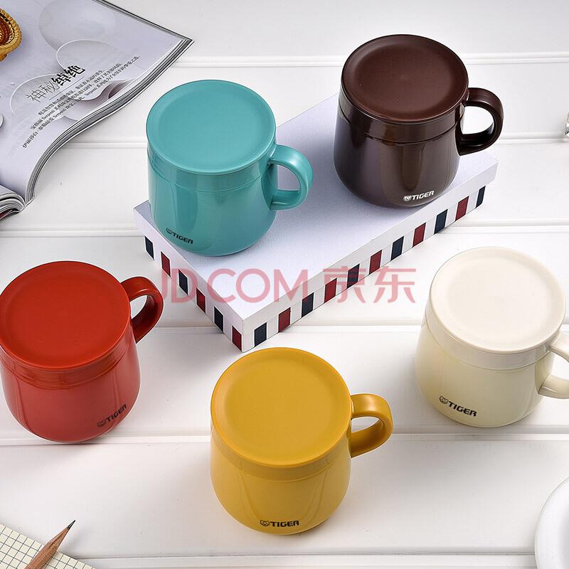 虎牌(Tiger)保温杯不锈钢双层真空办公咖啡杯MCI-A28C-T咖啡色280ml,虎牌(TIGER)