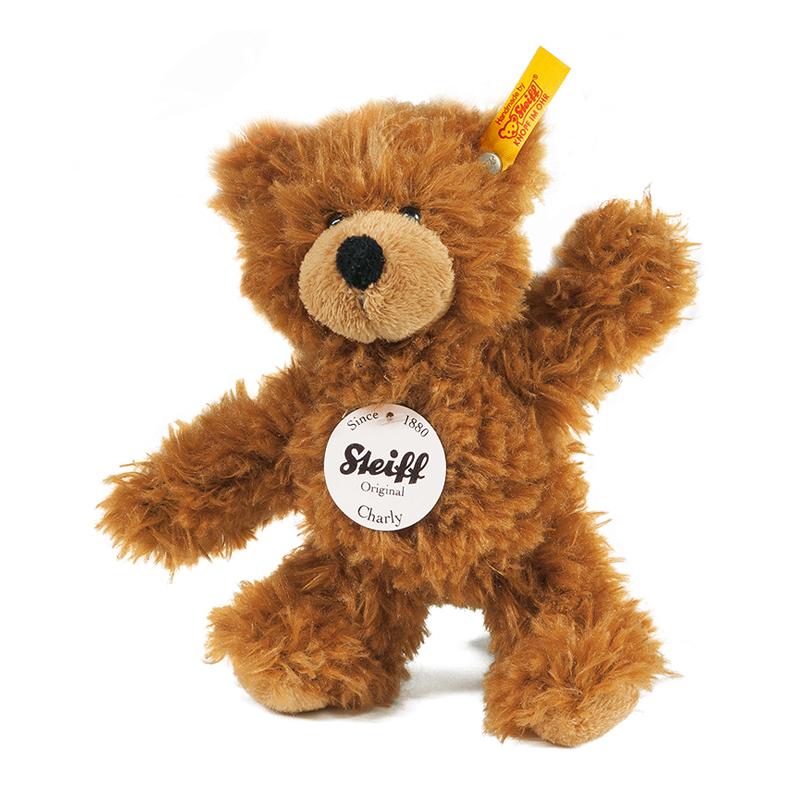 德国Steiff毛绒玩具Charly泰迪熊棕色 16cm 4001505012846