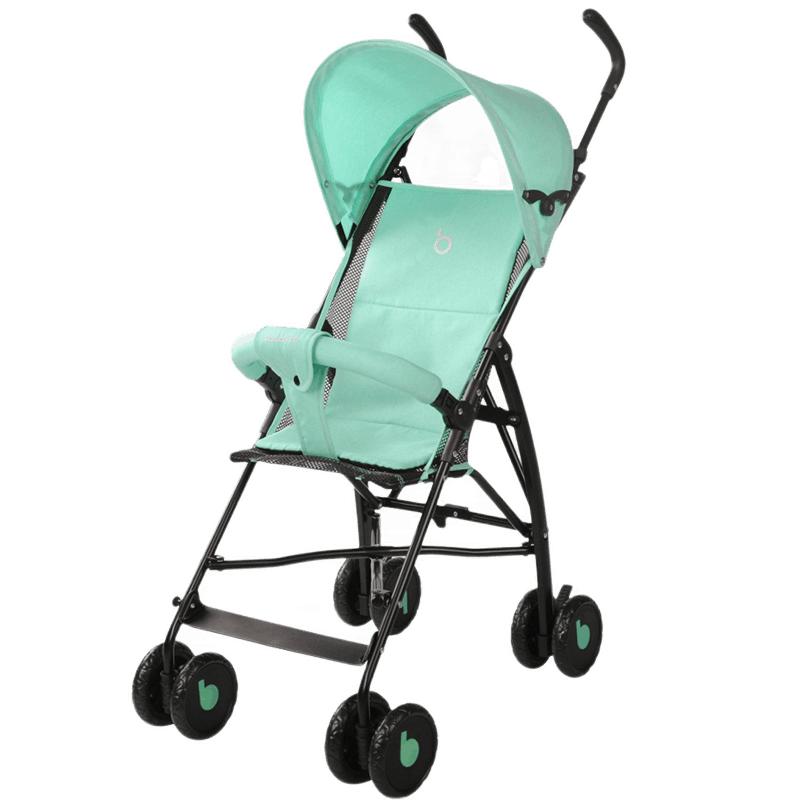 宝宝好 婴儿推车 伞车超轻便可折叠 婴儿车 轻便 透气手推车 605D绿色