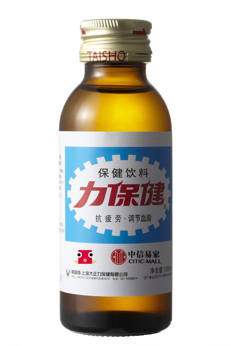 力保健牛磺酸维生素B功能饮料 100ml*10瓶