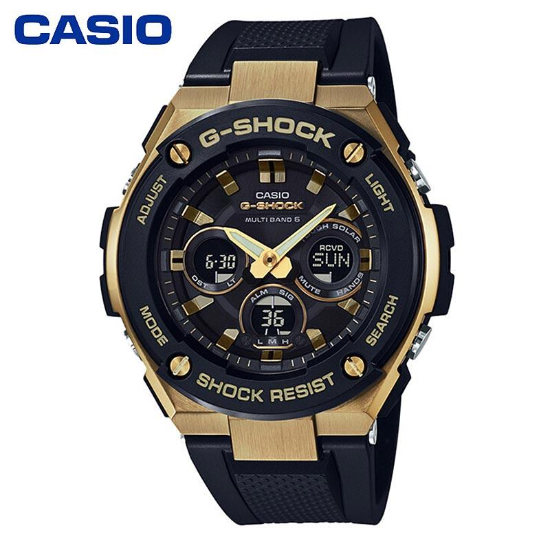 CASIO卡西欧男表G-STEEL系列GST-W300系列运动男士手表