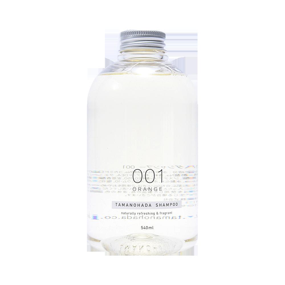 TAMANOHADA 玉肌 无硅植物精华洗发水 001 香橙味 540ml