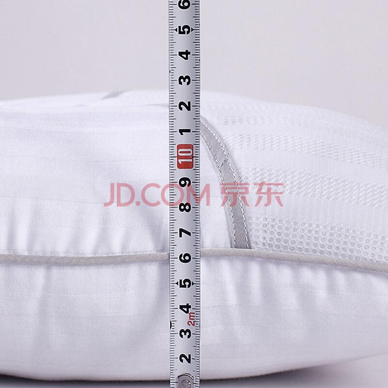富安娜家纺 草本颈椎枕头芯 纯棉面料枕芯套装一对 茶香决明子对枕(70*45cm)白,富安娜(FUANNA)