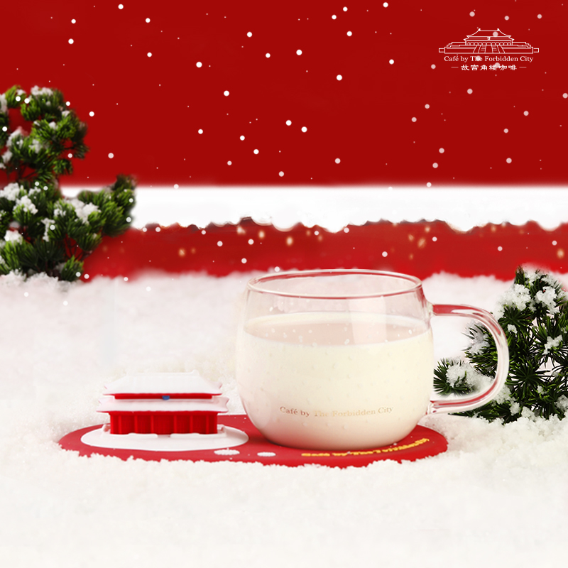 故宫角楼咖啡玻璃杯—雪慕玻璃杯