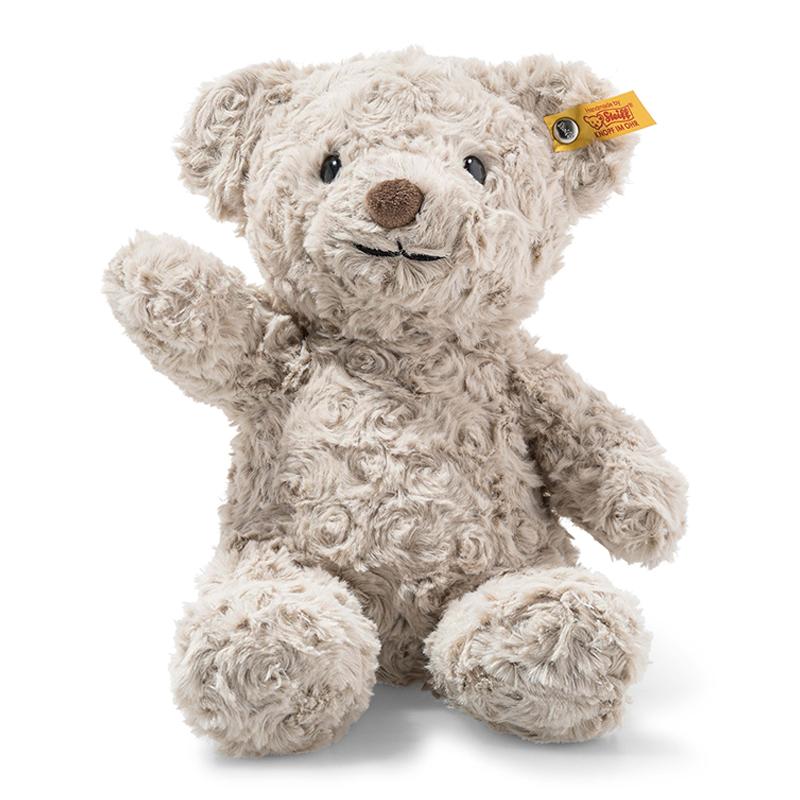 德国Steiff毛绒玩具Honey泰迪熊灰色 28cm 4001505113420