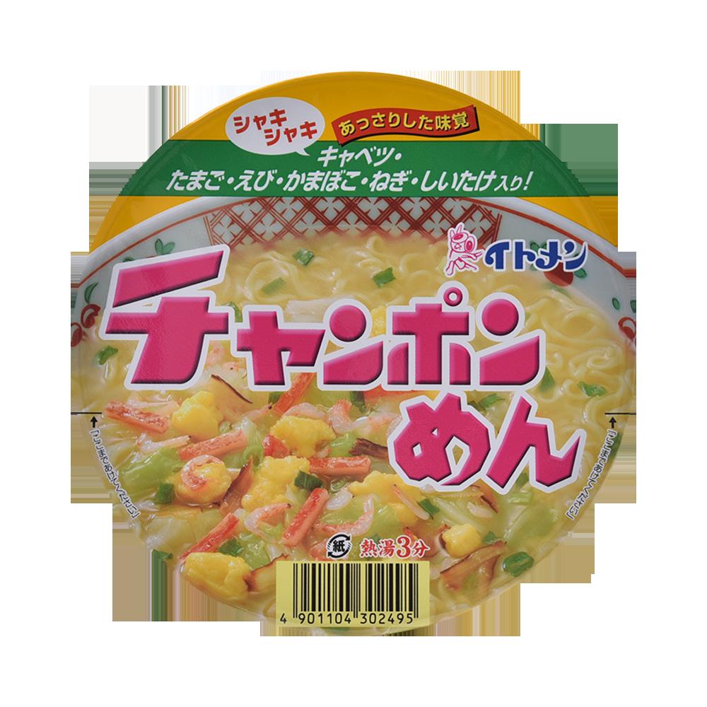 ITOMEN 香菇虾米鸡蛋拉面 桶杯装 84g