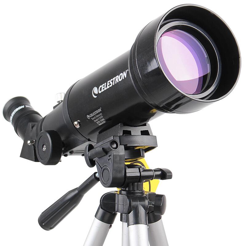 星特朗(CELESTRON)天文望远镜70400专业儿童观星