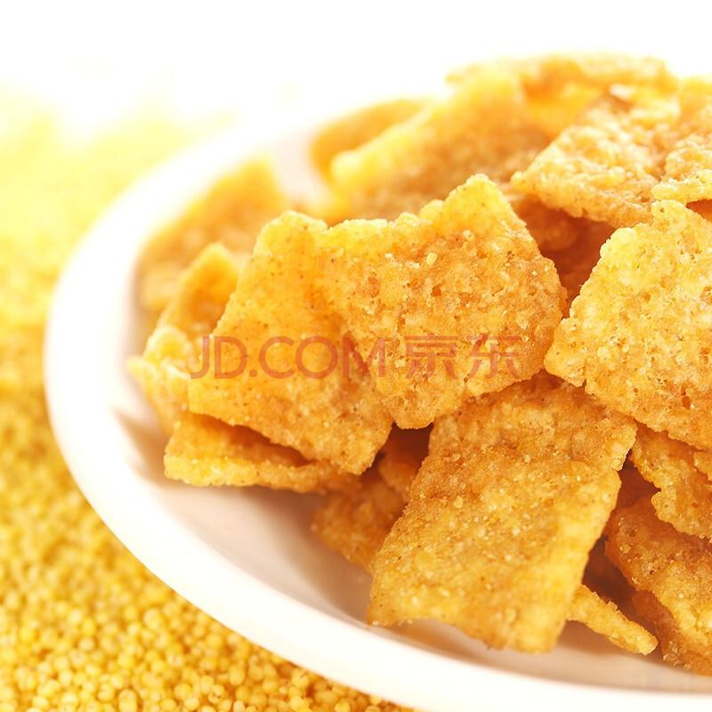 粮悦 休闲零食小米锅巴孜然味210g 大吃兄薯片膨化食品小吃,粮悦(LIRAY)