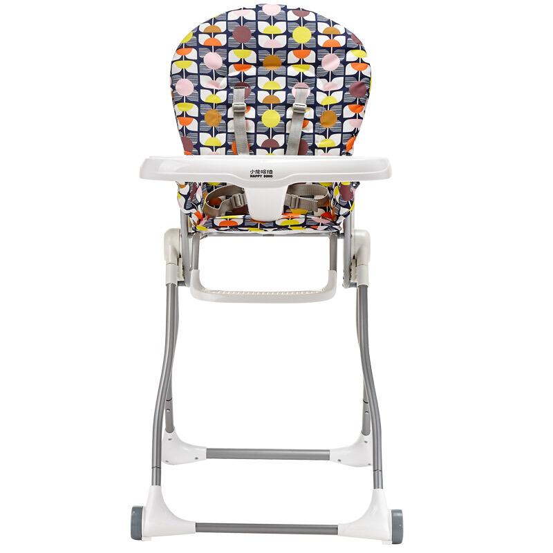 hd小龙哈彼 儿童餐椅多功能婴儿宝宝便携折叠餐椅LY255-P100
